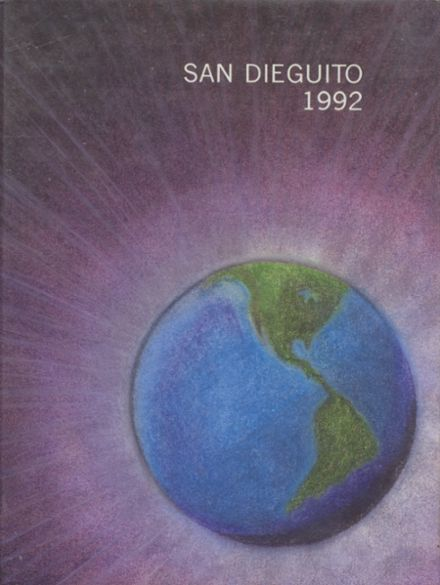 1992 San Dieguito High School Yearbook Cover
