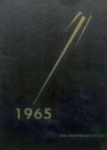 1965 Sidney High School Yearbook Cover