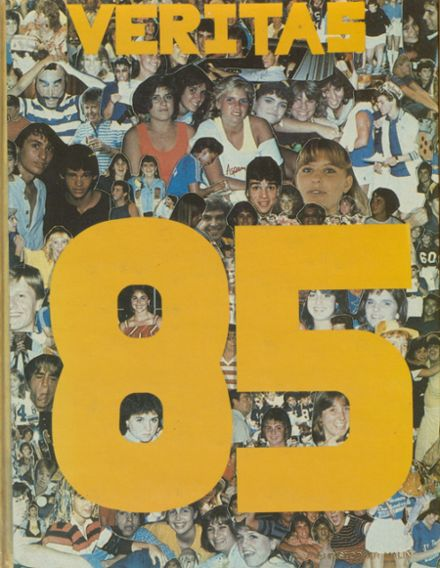 1985 St. Thomas Aquinas High School Yearbook Cover