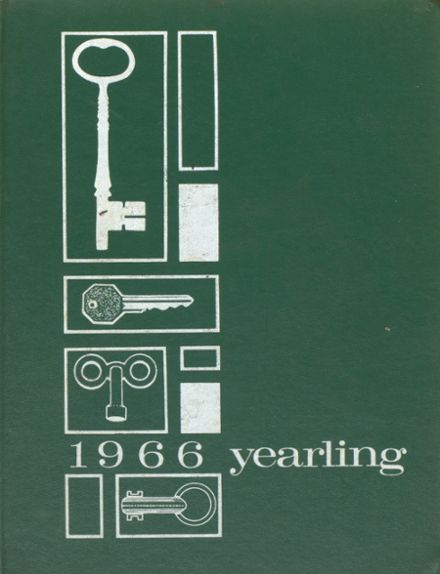 1966 Cambridge High School Yearbook Cover