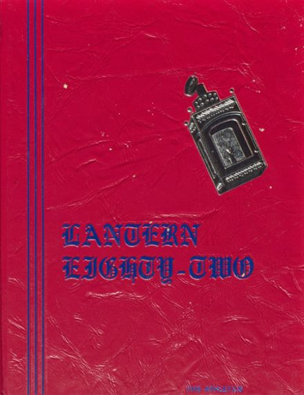 1982 Revere High School Yearbook Cover