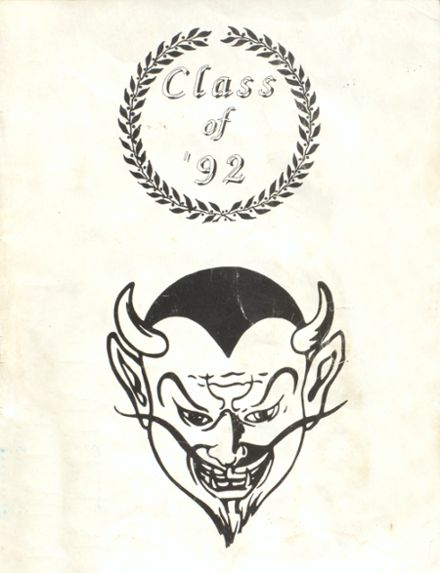 1992 Deming High School Yearbook Cover