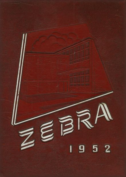 1952 Pine Bluff High School Yearbook Cover