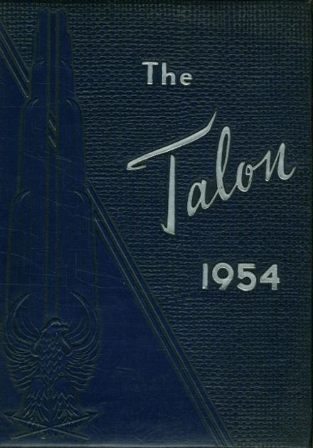 1954 Seagraves High School Yearbook Cover