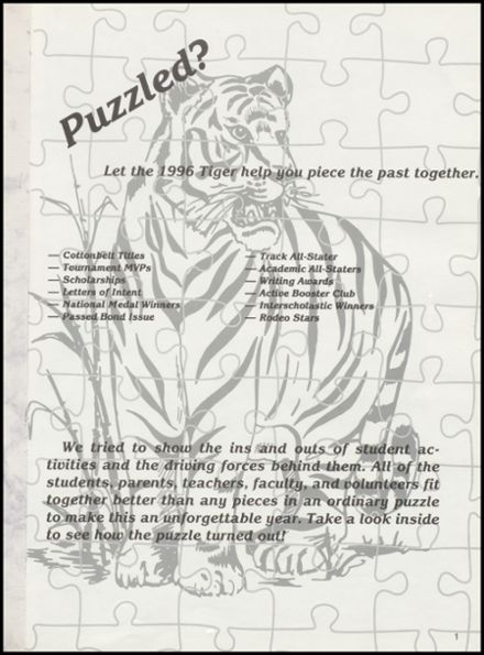 1996 Duke High School Yearbook Page 5