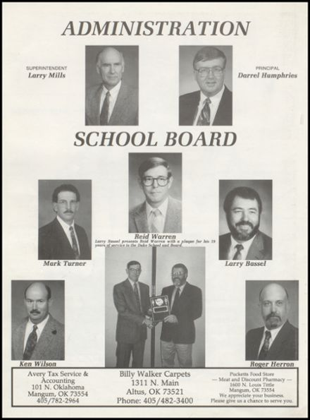 1996 Duke High School Yearbook Page 6