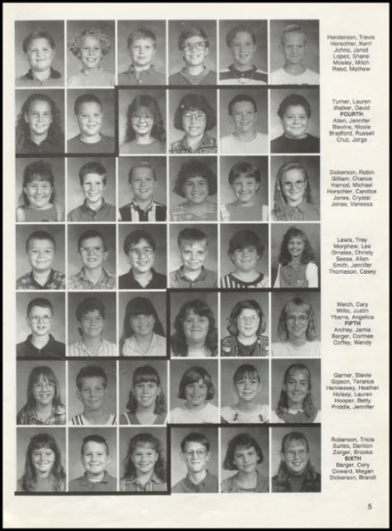 1996 Duke High School Yearbook Page 9