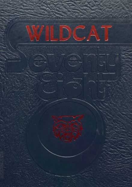 1978 Clarksdale High School Yearbook Cover
