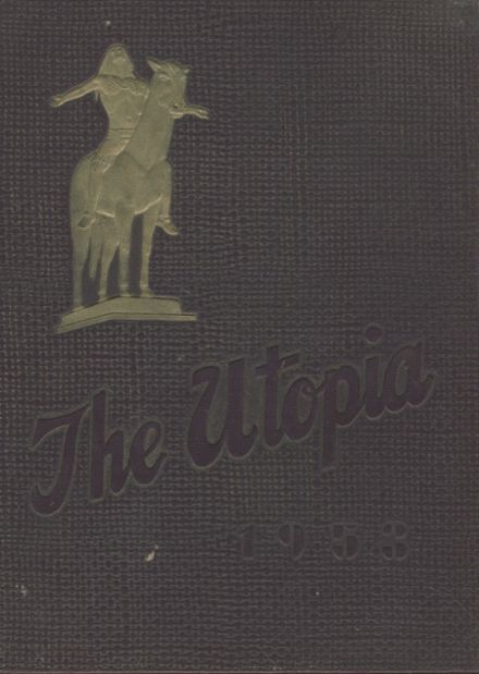 1953 Cayuga High School Yearbook Cover