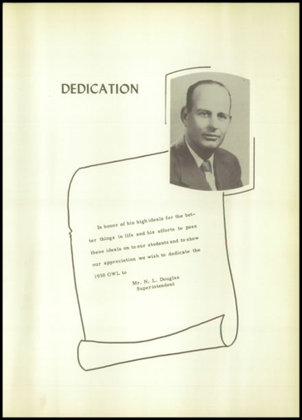 1950 Hale Center High School Yearbook Page 9
