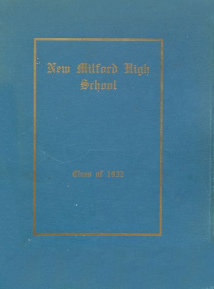 1932 New Milford High School Yearbook Cover