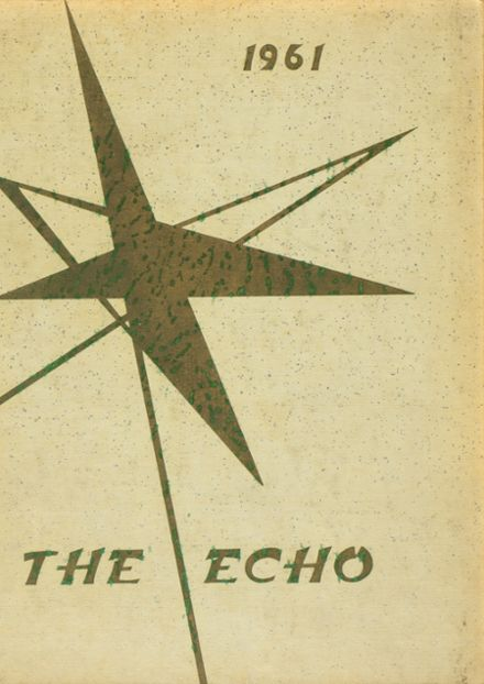 1961 Echo Valley Christian School Yearbook Cover