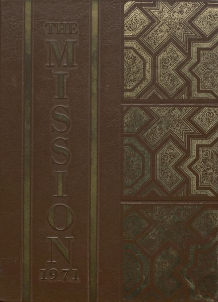 1971 Mission High School Yearbook Cover