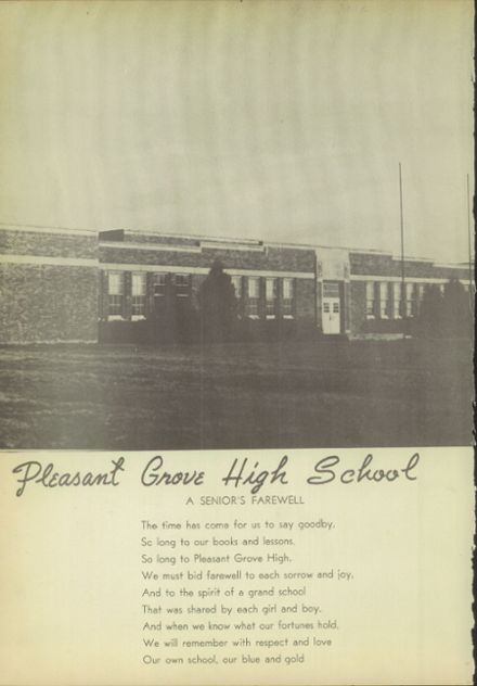 1947 Pleasant Grove High School Yearbook Page 8