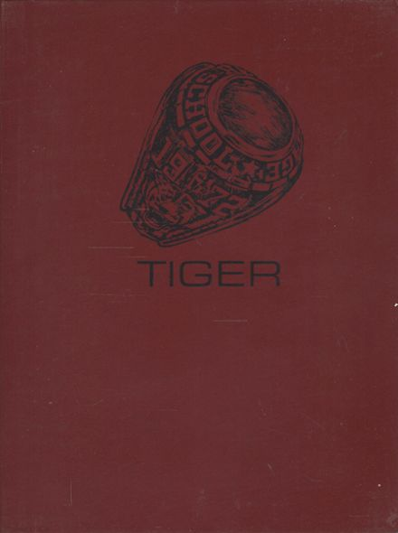 1972 Gage High School Yearbook Page 1