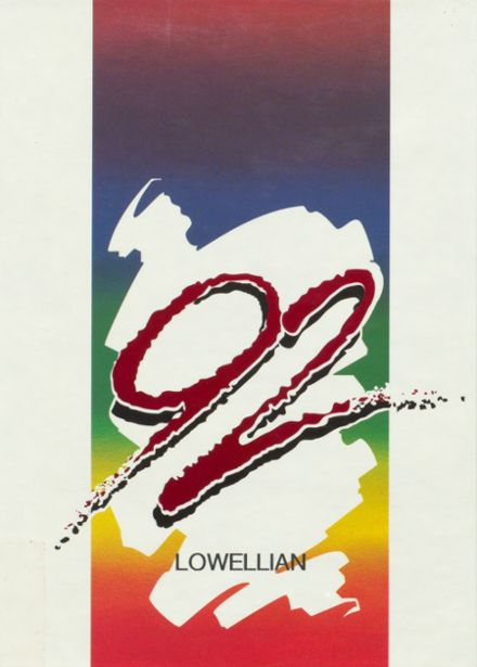 1992 Lowell High School Yearbook Cover