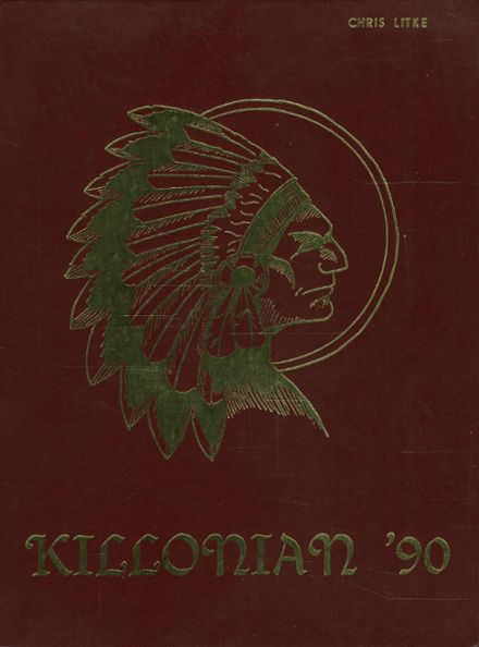1990 Killingly High School Yearbook Cover