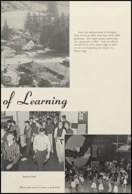 1960 Arlington High School Yearbook Page 7