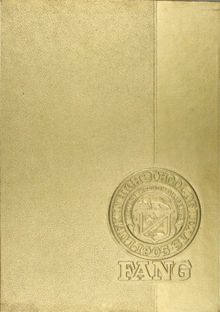 1967 Lufkin High School Yearbook Cover