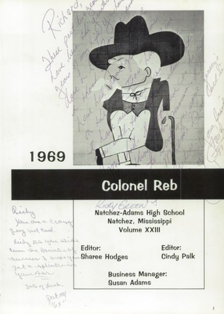 1969 Natchez High School Yearbook Page 5