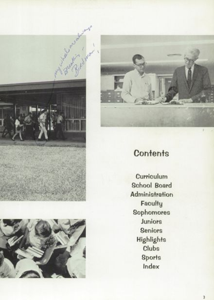 1969 Natchez High School Yearbook Page 7