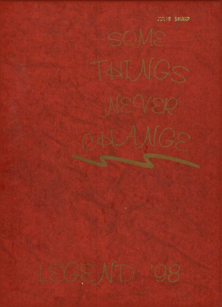 1998 Bellmont High School Yearbook Cover