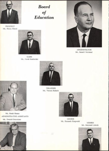 1964 Rosholt High School Yearbook Page 8