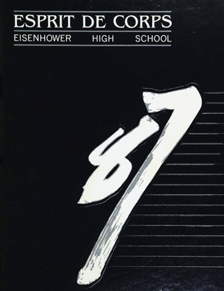 1987 Eisenhower High School Yearbook Cover