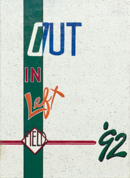 1992 Madison-Grant High School Yearbook Cover