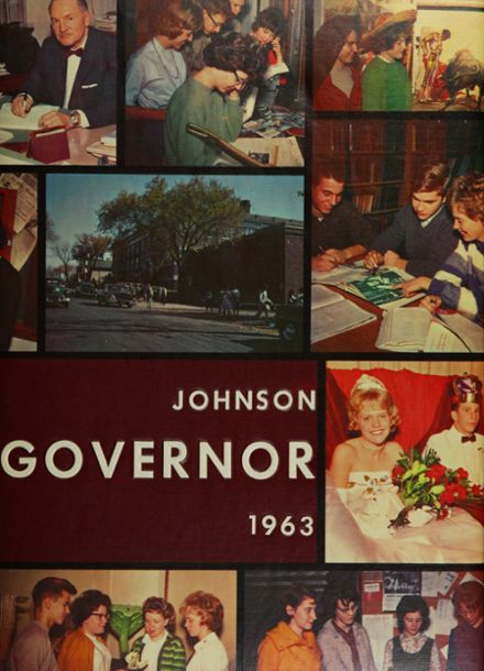 1963 Johnson High School Yearbook Cover