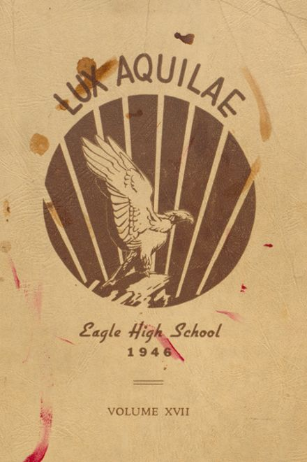 1946 Eagle Rock High School Yearbook Cover