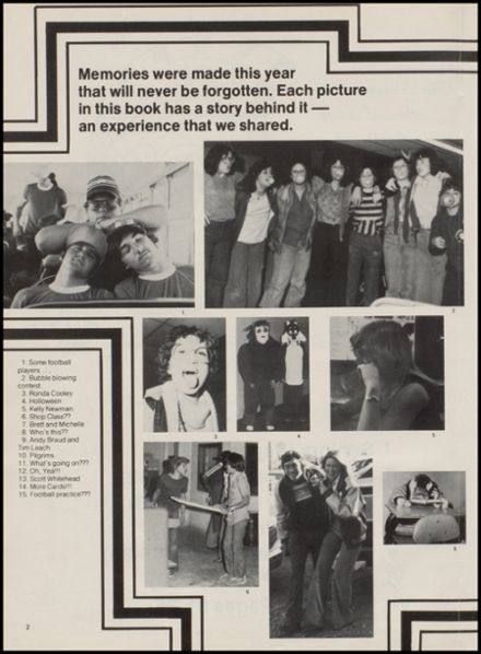 1979 Sharon High School Yearbook Page 6