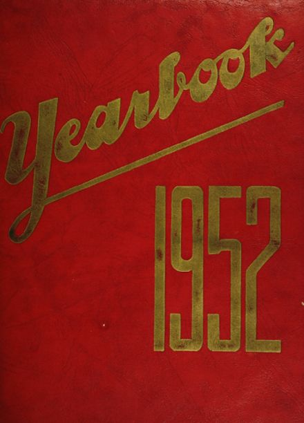 1952 Jamaica High School Yearbook Cover