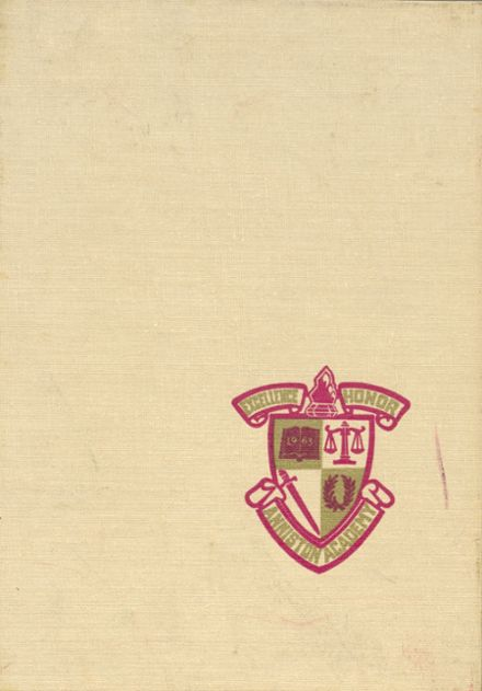 1970 Anniston Christian Academy Yearbook Cover
