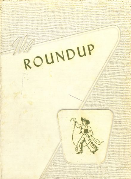 1955 Rio Blanco County High School Yearbook Cover