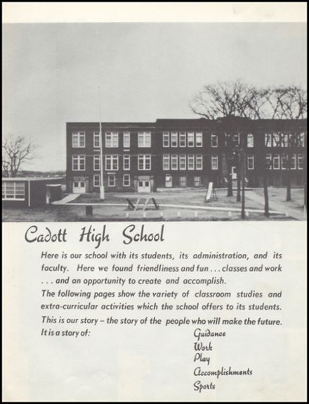 1954 Cadott High School Yearbook Page 7