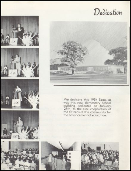 1954 Cadott High School Yearbook Page 8
