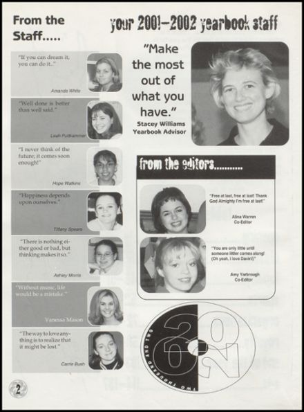 2002 Wright City High School Yearbook Page 6