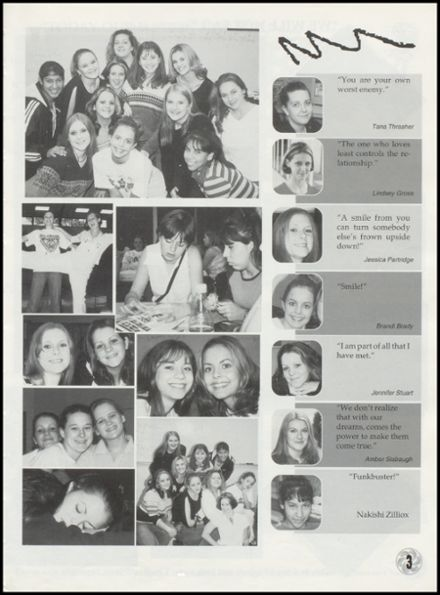 2002 Wright City High School Yearbook Page 7