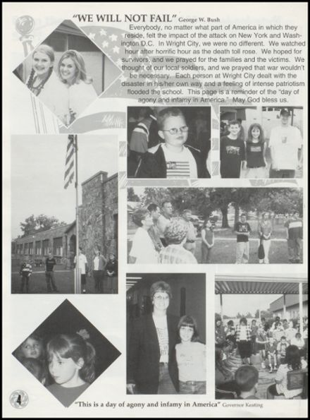 2002 Wright City High School Yearbook Page 8