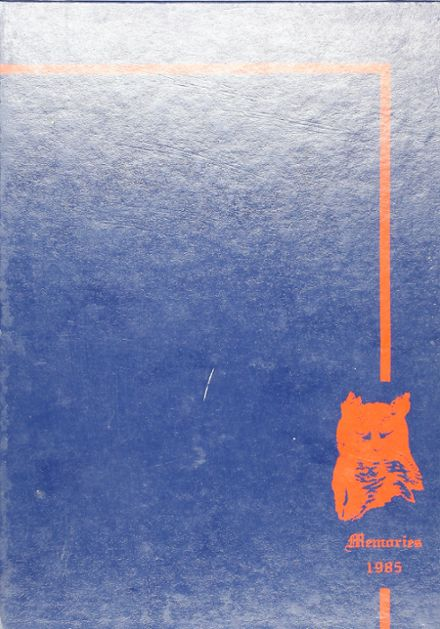 1985 Monticello High School Yearbook Cover