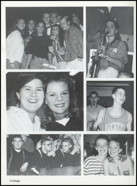 1995 Mitchell High School Yearbook Page 8