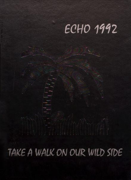 1992 Elyria Catholic High School Yearbook Cover