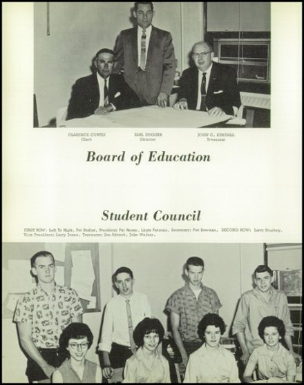 1962 Lansing High School Yearbook Page 6