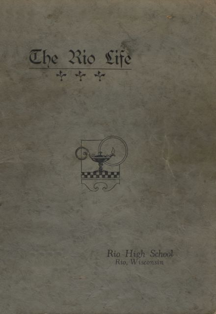 1927 Rio High School Yearbook Page 1