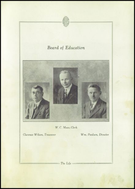 1927 Rio High School Yearbook Page 7