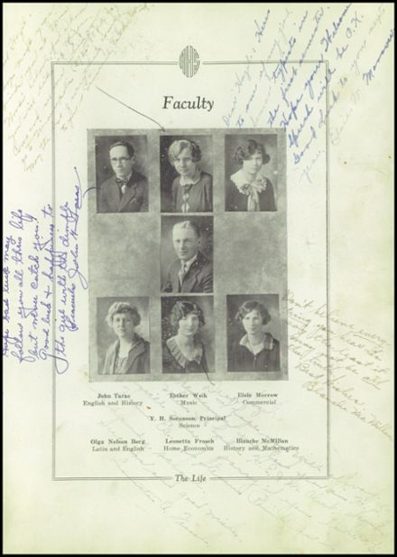 1927 Rio High School Yearbook Page 9