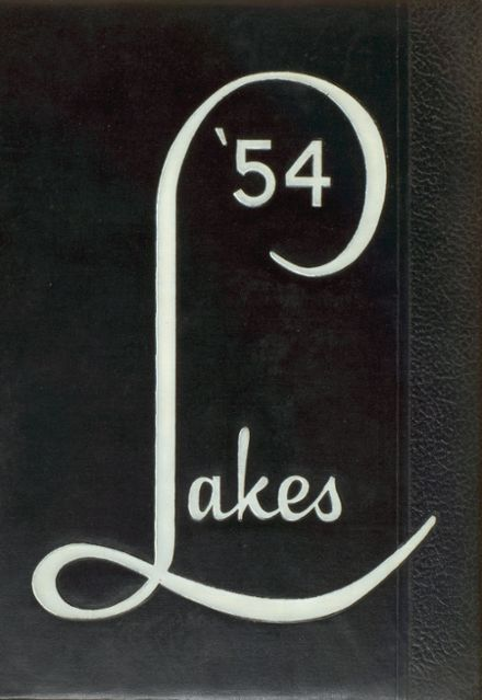 1954 Mountain Lakes High School Yearbook Cover