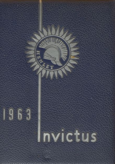 1963 Henley High School Yearbook Cover