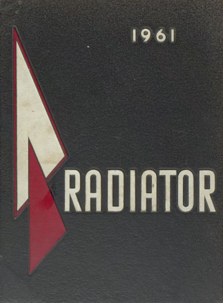 1961 Gainesville High School Yearbook Cover